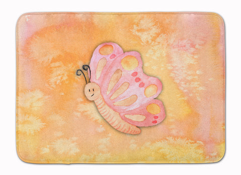 Buy this Butterfly Watercolor Machine Washable Memory Foam Mat BB7384RUG