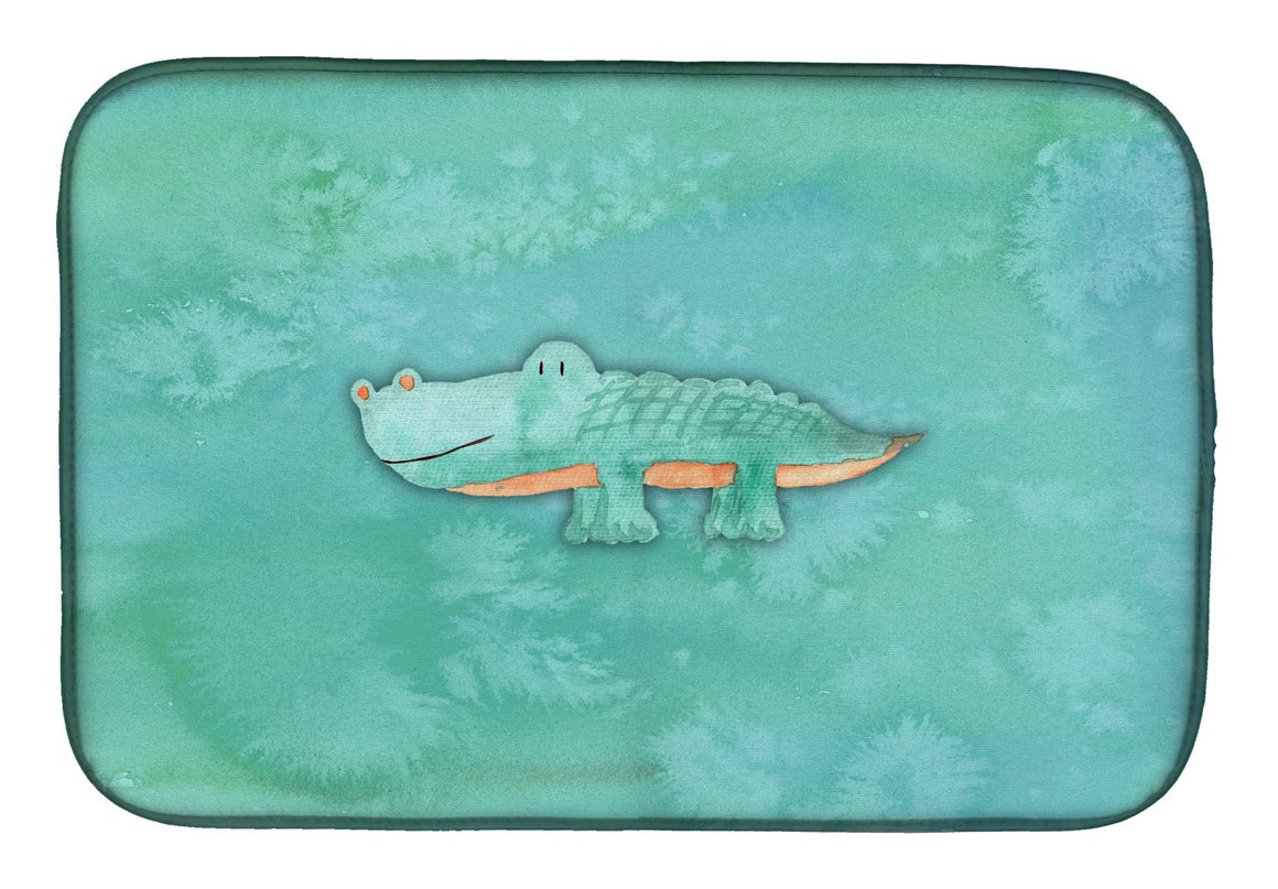 Buy this Alligator Watercolor Dish Drying Mat BB7385DDM