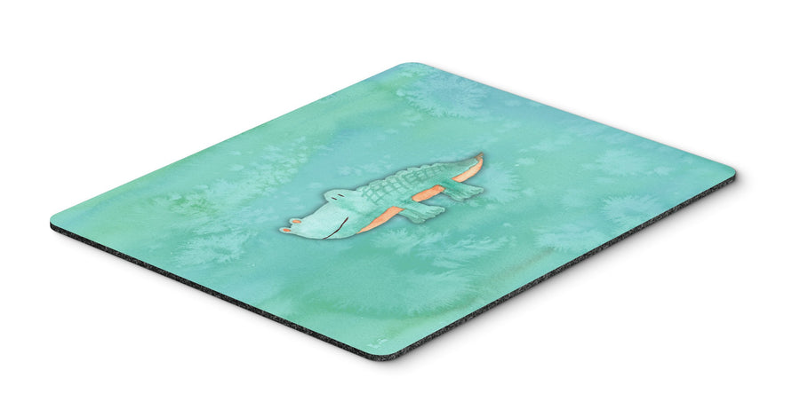 Buy this Alligator Watercolor Mouse Pad, Hot Pad or Trivet BB7385MP