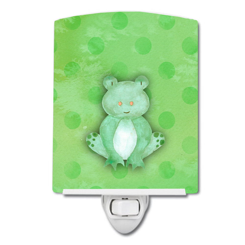 Buy this Polkadot Frog Watercolor Ceramic Night Light BB7388CNL