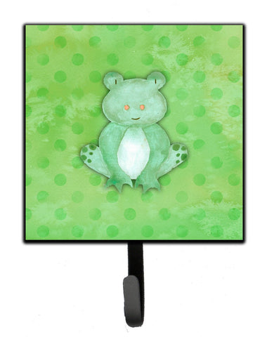 Buy this Polkadot Frog Watercolor Leash or Key Holder BB7388SH4