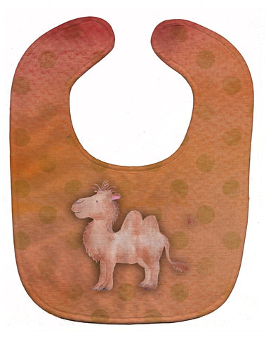 Buy this Polkadot Camel Watercolor Baby Bib BB7393BIB