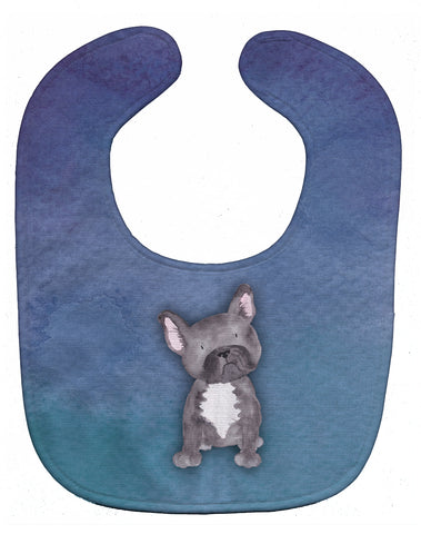 Buy this French Bulldog Watercolor Baby Bib BB7395BIB