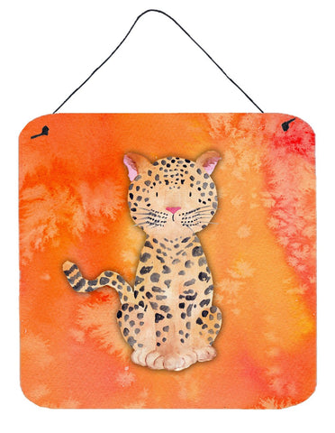 Buy this Leopard Watercolor Wall or Door Hanging Prints BB7396DS66