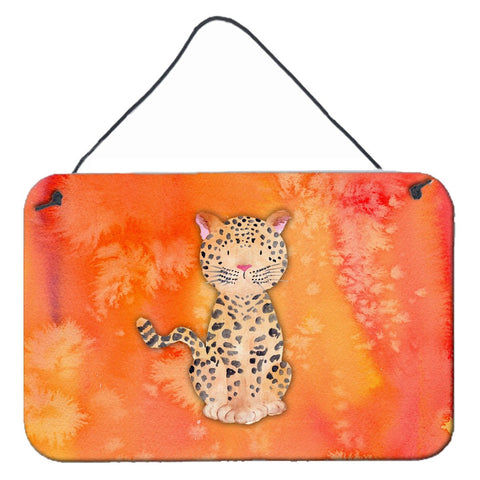 Buy this Leopard Watercolor Wall or Door Hanging Prints BB7396DS812