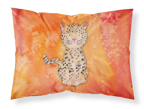 Buy this Leopard Watercolor Fabric Standard Pillowcase BB7396PILLOWCASE