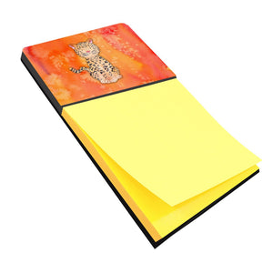 Buy this Leopard Watercolor Sticky Note Holder BB7396SN