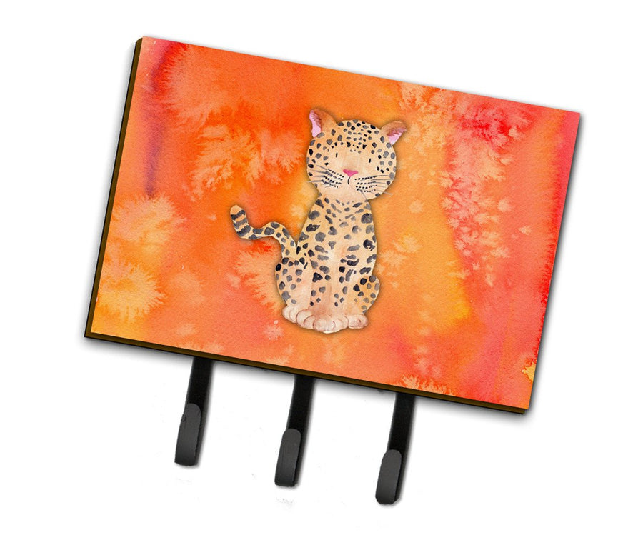 Buy this Leopard Watercolor Leash or Key Holder BB7396TH68