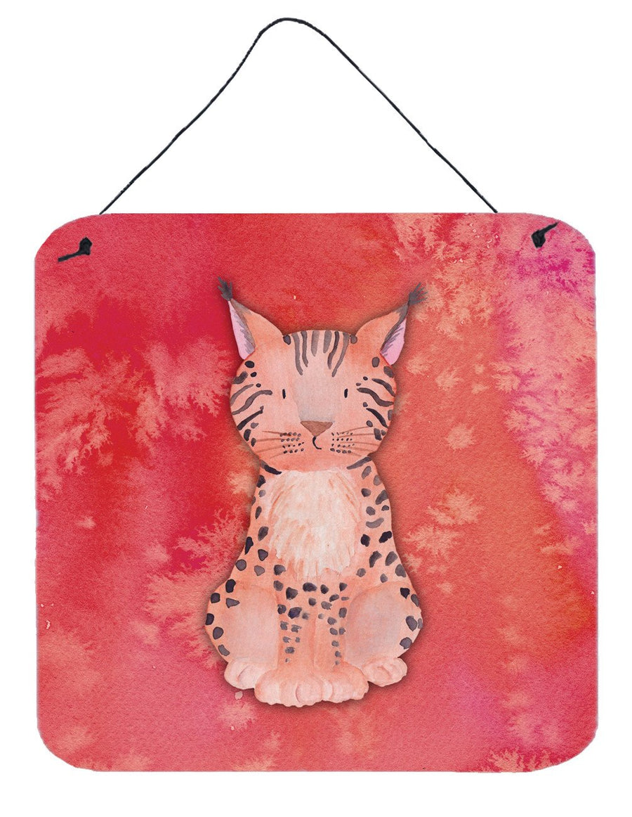 Buy this Lynx Watercolor Wall or Door Hanging Prints BB7397DS66