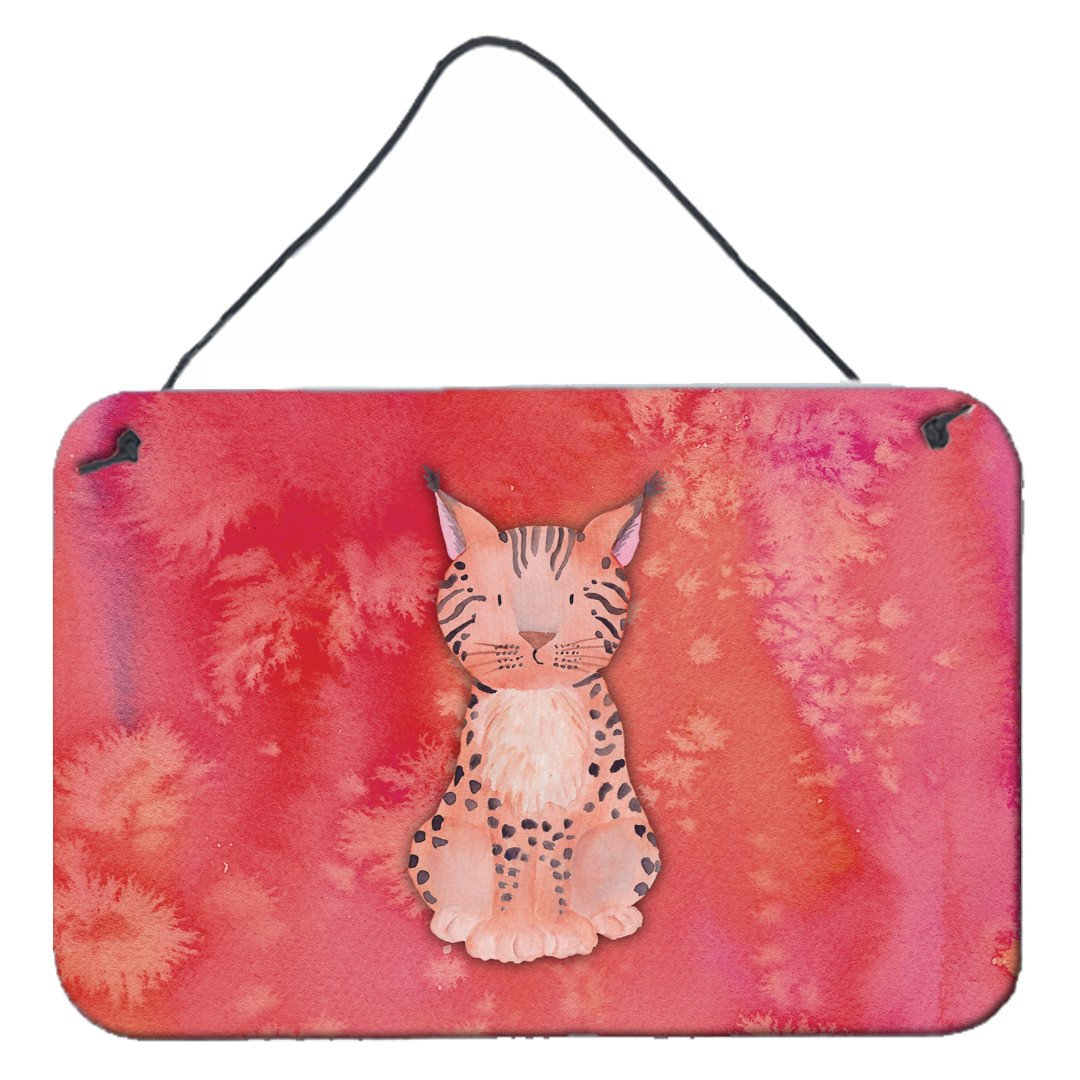Buy this Lynx Watercolor Wall or Door Hanging Prints BB7397DS812