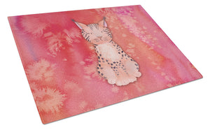Buy this Lynx Watercolor Glass Cutting Board Large BB7397LCB