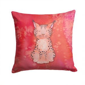 Buy this Lynx Watercolor Fabric Decorative Pillow BB7397PW1414