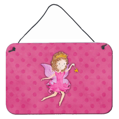 Buy this Fairy Princess Watercolor Wall or Door Hanging Prints BB7406DS812