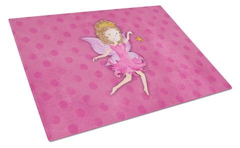 Buy this Fairy Princess Watercolor Glass Cutting Board Large BB7406LCB