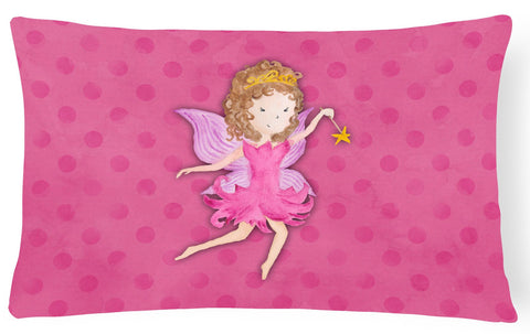 Buy this Fairy Princess Watercolor Canvas Fabric Decorative Pillow BB7406PW1216