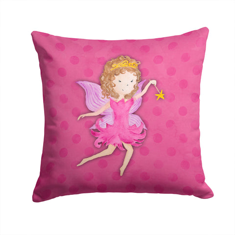 Buy this Fairy Princess Watercolor Fabric Decorative Pillow BB7406PW1414