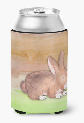 Buy this Rabbit Watercolor Can or Bottle Hugger BB7410CC