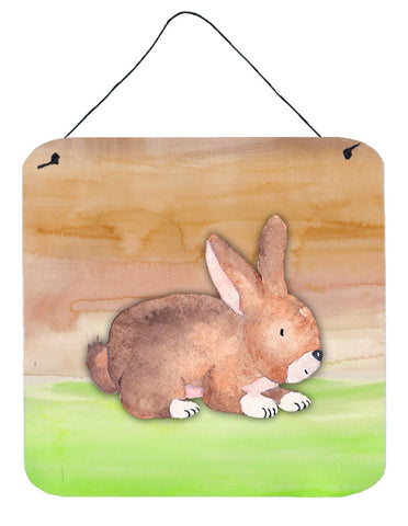Buy this Rabbit Watercolor Wall or Door Hanging Prints BB7410DS66
