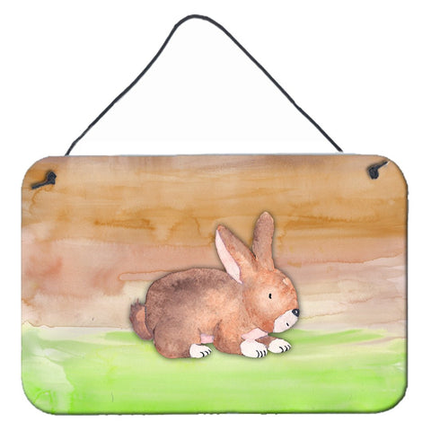 Buy this Rabbit Watercolor Wall or Door Hanging Prints BB7410DS812