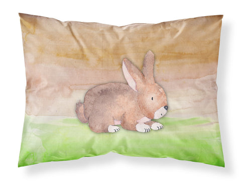 Buy this Rabbit Watercolor Fabric Standard Pillowcase BB7410PILLOWCASE