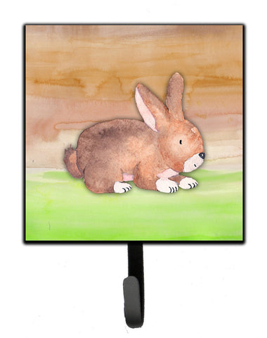 Buy this Rabbit Watercolor Leash or Key Holder BB7410SH4