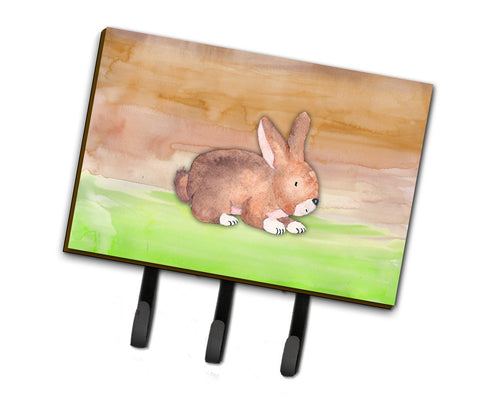 Buy this Rabbit Watercolor Leash or Key Holder BB7410TH68