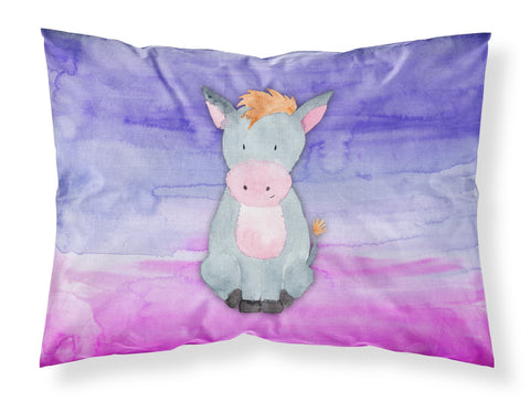 Buy this Donkey Watercolor Fabric Standard Pillowcase BB7415PILLOWCASE