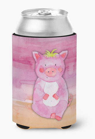 Buy this Pig Watercolor Can or Bottle Hugger BB7416CC