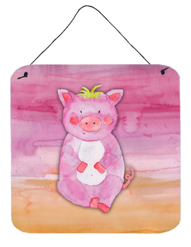 Buy this Pig Watercolor Wall or Door Hanging Prints BB7416DS66