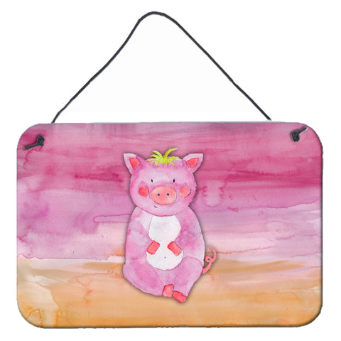 Buy this Pig Watercolor Wall or Door Hanging Prints BB7416DS812