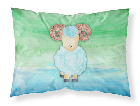 Buy this Ram Sheep Watercolor Fabric Standard Pillowcase BB7418PILLOWCASE