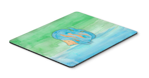 Buy this Blue Fish Watercolor Mouse Pad, Hot Pad or Trivet BB7419MP