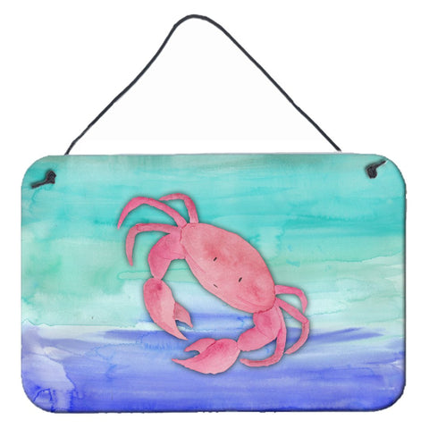 Buy this Crab Watercolor Wall or Door Hanging Prints BB7420DS812