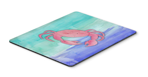 Buy this Crab Watercolor Mouse Pad, Hot Pad or Trivet BB7420MP