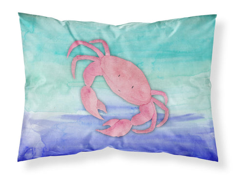 Buy this Crab Watercolor Fabric Standard Pillowcase BB7420PILLOWCASE