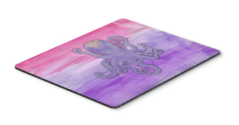 Buy this Octopus Watercolor Mouse Pad, Hot Pad or Trivet BB7424MP