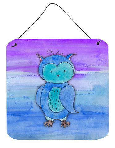 Buy this Blue Owl Watercolor Wall or Door Hanging Prints BB7426DS66