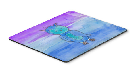 Buy this Blue Owl Watercolor Mouse Pad, Hot Pad or Trivet BB7426MP