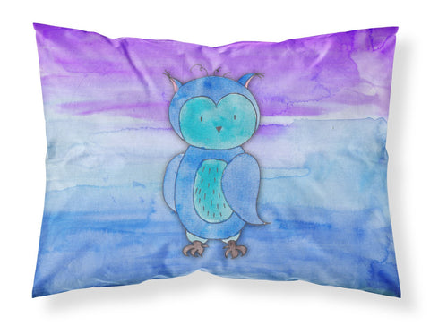 Buy this Blue Owl Watercolor Fabric Standard Pillowcase BB7426PILLOWCASE