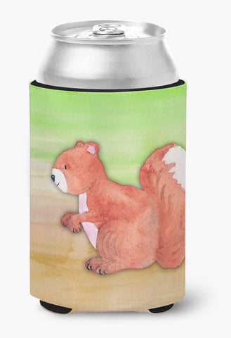Buy this Squirrel Watercolor Can or Bottle Hugger BB7431CC