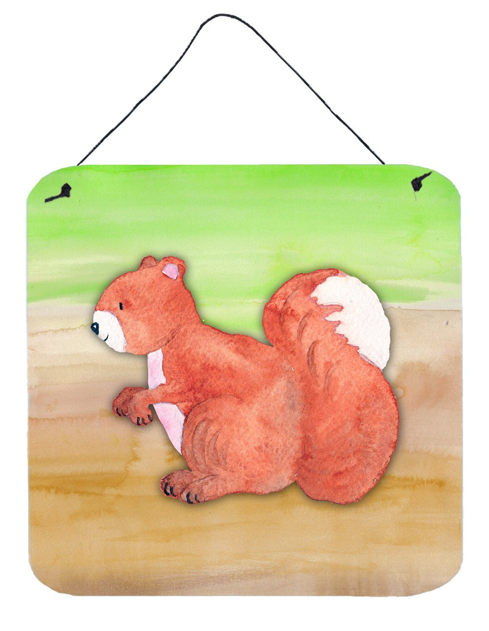 Buy this Squirrel Watercolor Wall or Door Hanging Prints BB7431DS66