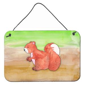 Buy this Squirrel Watercolor Wall or Door Hanging Prints BB7431DS812