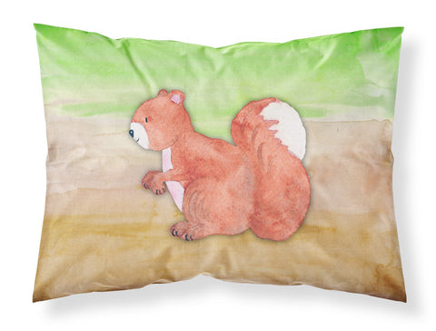 Buy this Squirrel Watercolor Fabric Standard Pillowcase BB7431PILLOWCASE
