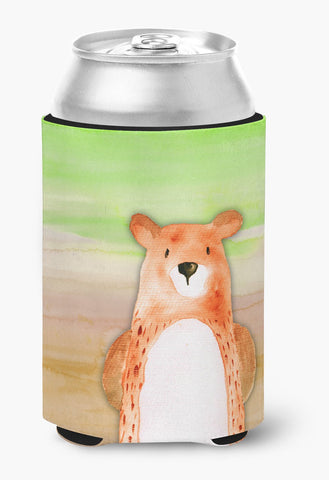 Buy this Bear Watercolor Can or Bottle Hugger BB7434CC