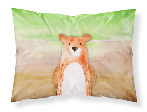 Buy this Bear Watercolor Fabric Standard Pillowcase BB7434PILLOWCASE