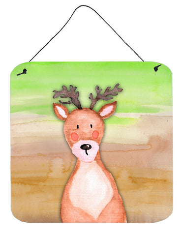 Buy this Deer Watercolor Wall or Door Hanging Prints BB7435DS66