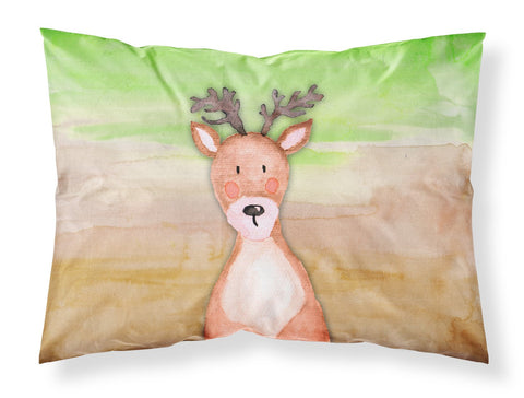 Buy this Deer Watercolor Fabric Standard Pillowcase BB7435PILLOWCASE