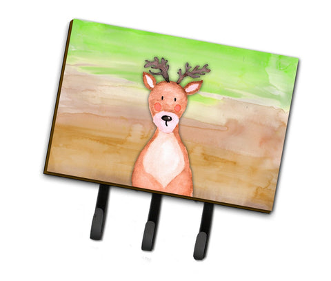 Buy this Deer Watercolor Leash or Key Holder BB7435TH68