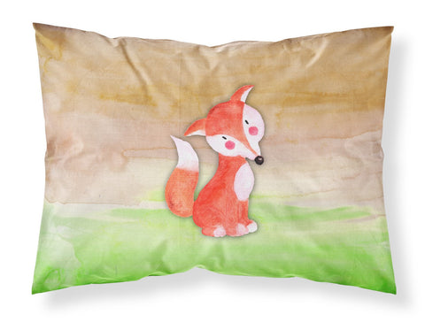 Buy this Fox Watercolor Fabric Standard Pillowcase BB7436PILLOWCASE