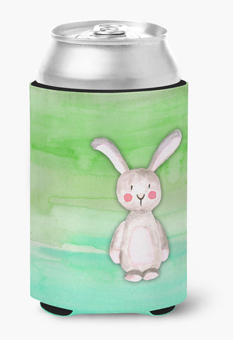 Buy this Bunny Rabbit Watercolor Can or Bottle Hugger BB7437CC